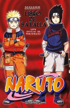 NARUTO GUÍA Nº 02 LIBRO DE BATALLA
