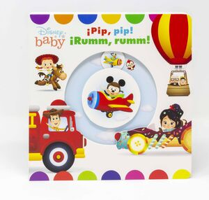 DISNEY BABY. ¡PIP, PIP! ¡RUMM, RUMM!. LIBRO DE CAR