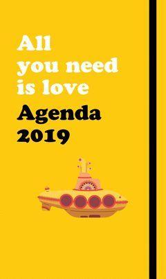 2019 AGENDA ANUAL BEATLES