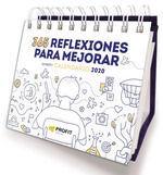 2020 CALENDARIO 365 REFLEXIONES PARA MEJORAR.PROFIT