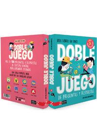 DOBLE JUEGO DE PREGUNTAS