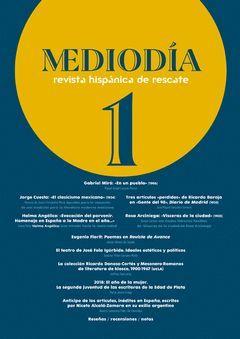 MEDIODIA. REVISTA HISPANICA DE RESCATE. 1