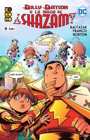 BILLY BATSON Y LA MAGIA DE ¡SHAZAM! NUM. 009