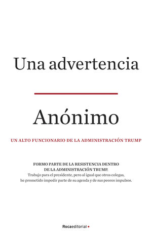UNA ADVERTENCIA (A WARNING)