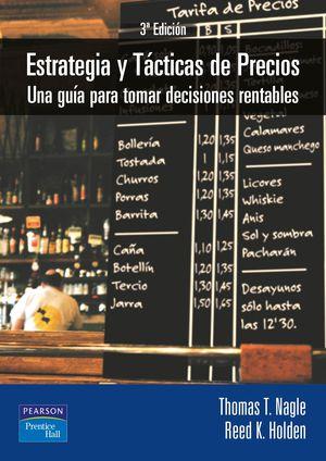 ESTRATEGIA Y TACTICAS DE PRECIOS  3/E
