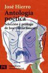 ANTOLOGIA POETICA (JOSE HIERRO)-L-5055
