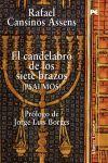 CANDELABRO DE LOS SIETE BRAZOS,EL (PSALMOS).ALIANZA LITERARIA-RUST