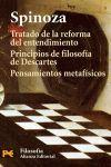 TRATADO DE LA REFORMA DEL ENTENDIMIENTO Y OTROS TEXTOS-H-4472