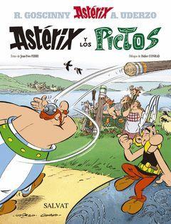 ASTERIX-035. ASTERIX Y LOS PICTOS.CASTELLANO