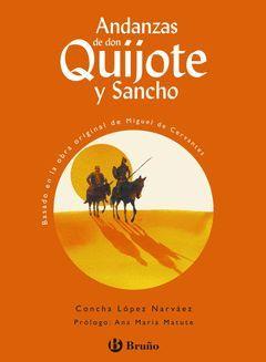 ANDANZAS DE DON QUIJOTE Y SANCHO.BRUÑO-D