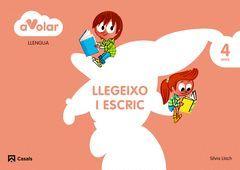 A VOLAR! LLENGUA. LLEGEIXO I ESCRIC 2. 4 ANYS