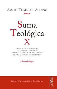 SUMA TEOLOGICA X.EDICION BILINGUE
