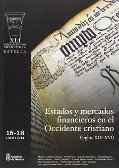 41 SEMANA ESTUDIOS MEDIEVALES ESTADOS Y MERCADOS FINANCIER