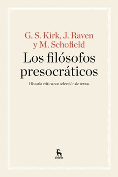 FILÓSOFOS PRESOCRÁTICOS,LOS.GREDOS-RUST