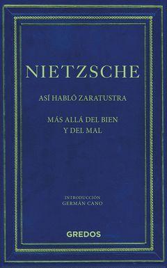 ASI HABLO ZARATUSTRA/MAS ALLA DEL BIEN Y DEL MAL