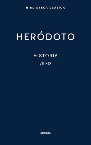 HISTORIA. LIBROS VIII-IX