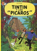 TINTIN CASTELLANO-023.Y LOS PICAROS.JUVENTUD-COMIC
