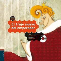 TRAJE NUEVO DEL EMPERADOR, EL. CON CD.EDELVIVES-COLORIN COLORADO-4-INF-CARTONE
