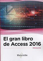 GRAN LIBRO DE ACCESS 2016