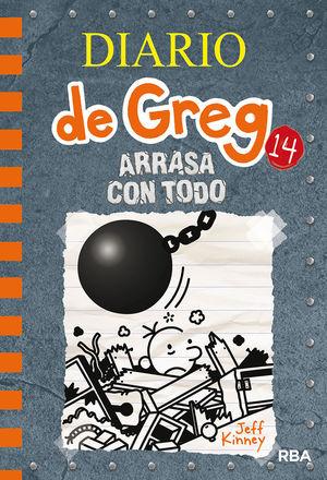 DIARIO DE GREG-014.ARRASA CON TODO.RBA-DURA
