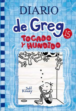 DIARIO DE GREG 15. TOCADO Y HUNDIDO .