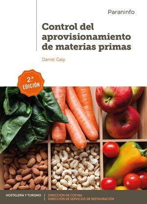 CONTROL DEL APROVISIONAMIENTO DE MATERIAS PRIMAS 2.ª EDICION