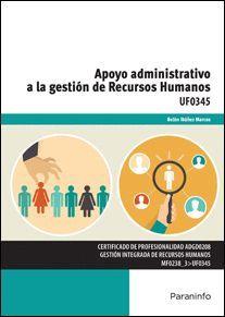 APOYO ADMINISTRATIVO A LA GESTION DE RECURSOS HUMANOS UF0345