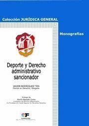 DEPORTE Y DERECHO AMINISTRATIVO SANCIONADOR