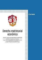 DERECHO MATRIMONIAL ECONÓMICO