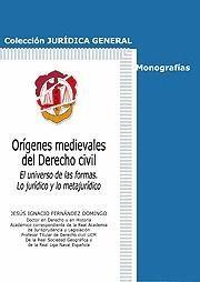 ORÍGENES MEDIEVALES DEL DERECHO CIVIL