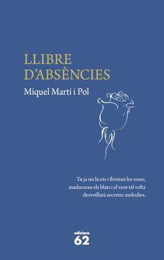 LLIBRE D'ABSÈNCIES. ED62-DURA