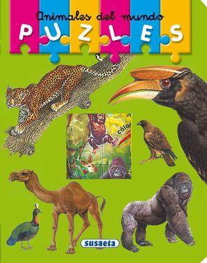 ANIMALES DEL MUNDO.SUSAETA-PUZLES-INF