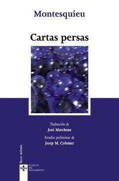 CARTAS PERSAS,TECNOS-CLASICOS DEL PENSAMIENTO-74-RUST