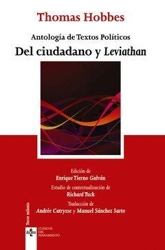 DEL CIUDADANO Y LEVIATHÁN. TECNOS-CLASICOS PENSAMIENTO-5