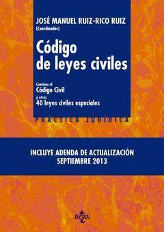 CODIGO DE LEYES CIVILES