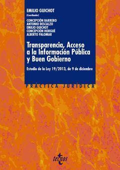 TRANSPARENCIA, ACCESO A LA INFORMACIÓN PÚBLICA Y BUEN GOBIERNO