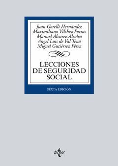 LECCIONES DE SEGURIDAD SOCIAL.ED16.TECNOS-RUST