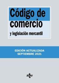 CÓDIGO DE COMERCIO. EDICIÓN 2021