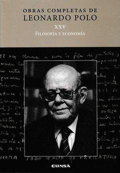 (LL.P. XXV) FILOSOFIA Y ECONOMIA