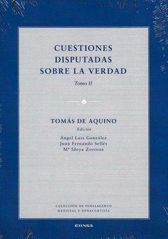 CUESTIONES DISPUTADAS SOBRE LA VERDAD TOMO II