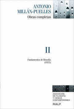 OBRAS COMPLETAS DE ANTONIO MILLÁN-PUELLES. VOL. II
