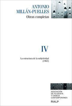 OBRAS COMPLETAS MILLÁN-PUELLES VOL.4