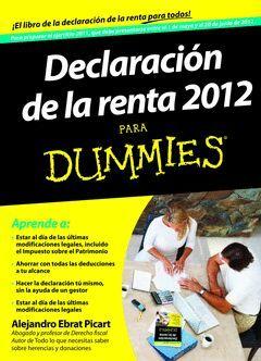 DECLARACION DE LA RENTA 2012 PARA DUMMIES