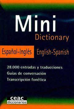 MINI DICTIONARY.ESPAÑOL-INGLES