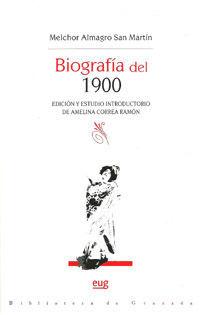 BIOGRAFÍA DEL 1900