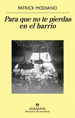 PARA QUE NO TE PIERDAS EN EL BARRIO. PN-900