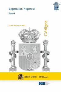 LEGISLACIÓN REGISTRAL (2 VOL.) (IMPRESIÓN BAJO DEMANDA)