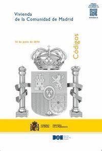 CÓDIGO DE LA VIVIENDA DE LA COMUNIDAD DE MADRID