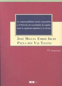 RESPONSABLIDAD SOCIAL CORPORATIVA Y EL DERECHO DE SOCIEDADES DE CAPITAL