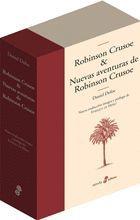 ROBINSON CRUSOE & NUEVAS AVENTURAS DE ROBINSON CRUSOE.(ESTUCHE 2 VOLS.)EDHASA-DURA
